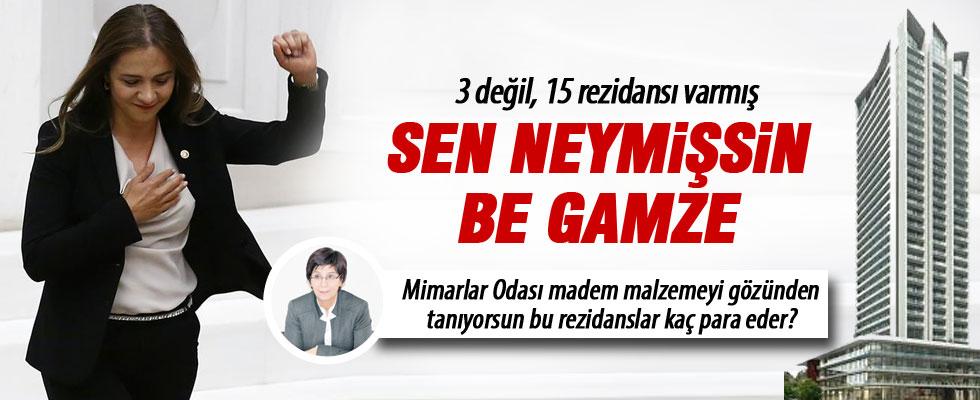 Devrimci Gamze'nin 3 değil, 15 rezidansı varmış