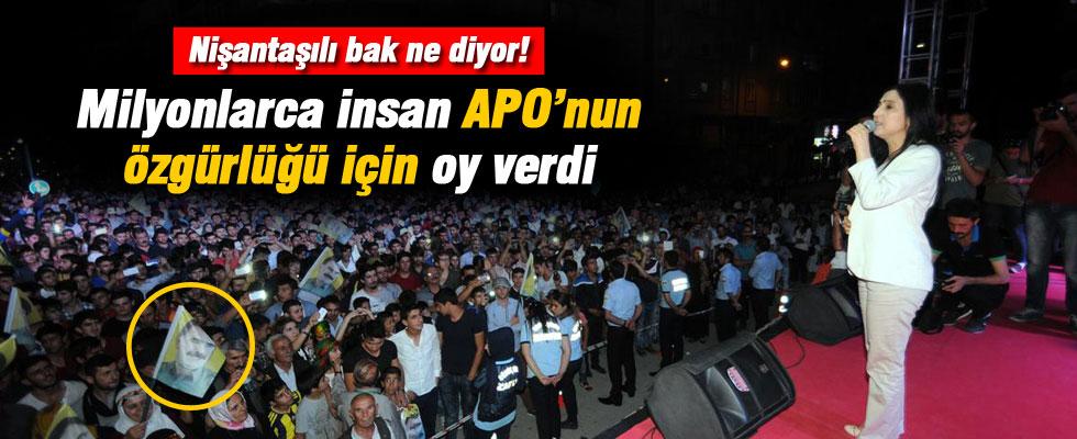 Figen Yüksekdağ: Milyonlar insan Öcalan'ın özgürlüğüne oy verdi