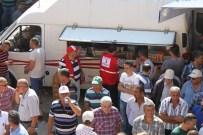 HÜSEYIN TÜRKOĞLU - Türk Kızılay'ı Yardıma Koştu