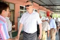 LEYLEK KÖYÜ - Başkan Özkan, Gölkıyı Mahallesindeki Çalışmaları Denetledi