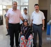 Engelli Kadın Akülü Aracına Kavuştu