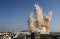 HIZBULLAH - Fetih Ordusu, İdlib'de Rejim Kışlasını Havaya Uçurdu