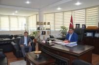 Kaymakam Örnek Ve Belediye Başkanı Atan'dan Esnaf Ziyareti