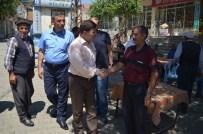 AK Parti İl Başkanı Akar Esnafı Gezdi
