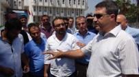 MURAT KAHRAMAN - Gümrük Çalışanları Sıkı Denetimleri Protesto Etti