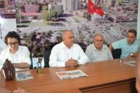 ADEM ARSLAN - Erdemli Belediye Başkanı Mükerrem Tollu, Ogc'yi Ziyaret Etti