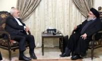 HIZBULLAH - İran Dışişleri Bakanı Zarif, Hizbullah Lideri Nasrallah İle Görüştü