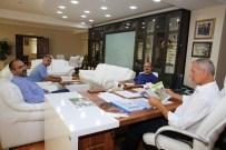 ÜVEZ - Ribat'tan Başkan Dişli'ye Ziyaret
