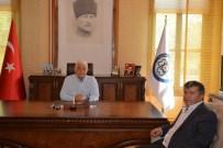 MUĞLA BELEDIYESI - Çeker'den Başkan Gürün'e Veda Ziyareti