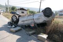KOZCAĞıZ - Domaniç'te Trafik Kazası Açıklaması 1 Yaralı
