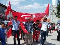 Karakeçili'de Terör Protestosu