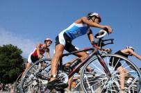 13. Eğirdir Triatlonu Başladı