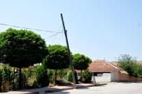 Kırıkkale'de Sağanak Ve Fırtına