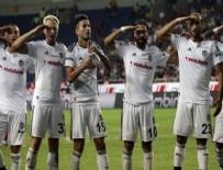MERSIN - Beşiktaş Mersin'de 5'ledi!