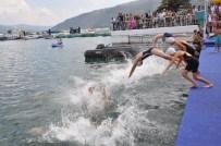 Eğirdir'de Yüzme Şenliği