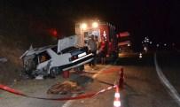 3 Araç Birbirine Girdi, 1 Ölü 3 Yaralı