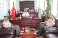 KOZCAĞıZ - Albay Aktemur'dan Başkan Karamana Ziyaret