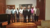 SINAV MERKEZLERİ - Rektör Prof. Dr. Gündoğan'a Teşekkür Ziyareti