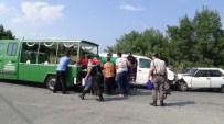 SILIVRI DEVLET HASTANESI - Silivri'de Zincirleme Kaza Açıklaması 1 Ölü, 3 Yaralı