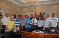 SEHER VAKTI - Seher Vakti Spor Ekibi Vali Amir Çiçek'i Ziyaret Etti