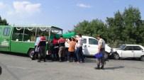 SILIVRI DEVLET HASTANESI - Silivri'de Zincirleme Kaza Açıklaması1 Ölü,3 Yaralı
