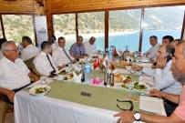 BILGIHAN BAYAR - Vali Türker Aktob Toplantısı'na Katıldı