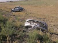 AHMET AKİF - Otomobil Şarampole Uçtu Açıklaması 2 Ölü
