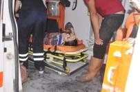 Elazığ'da Otomobil Devrildi Açıklaması 5 Yaralı