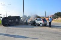Isparta'da Trafik Kazası Açıklaması 5 Yaralı