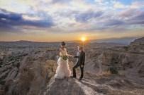BURAK YILDIRIM - Japon Çift Kapadokya'da Evlendi