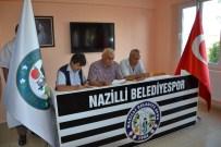 İSMAIL GÜNAY - Nazilli Belediyespor'de Başkan Özkat Güven Tazeledi
