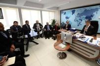 MUHAMMED SÜLEYMAN - Bahreynli Gazetecilerden AA'ya Ziyaret