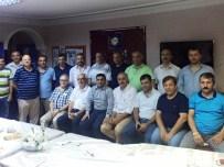 ORHAN ÖZDEMIR - Başkan Altunbaş'tan Ziraat Odasına Ziyaret