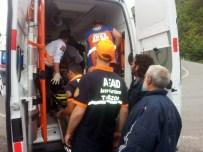 Trabzon'da Trafik Kazası Açıklaması 3 Yaralı