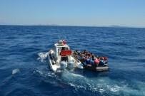 YASSıADA - Marmaris'te 119 Suriyeli Kaçak Göçmen Yakalandı