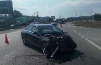 NECMI HOŞVER - Milletvekili Trafik Kazası Geçirdi