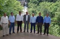 GÜZELDERE ŞELALESİ - Başkanları Gölyaka Toplandı