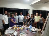 Gerze Belediyesi 1. Uluslararası Resim Çalıştayı Başladı