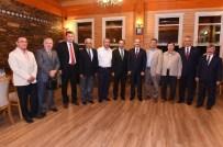 Başkan Cahan'dan Vali Seddar Yavuz'a Veda Yemeği