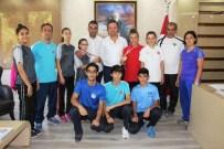 HÜSEYIN YÜKSEL - Şampiyonlardan Duman'a Ziyaret