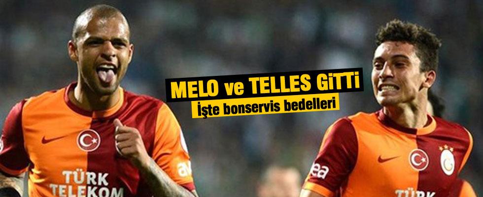 Melo ve Telles gitti!