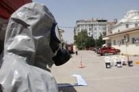 HASTANE BAHÇESİ - Elazığ'da 'Kimyasal Sızıntı' Tatbikatı