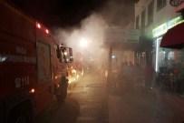 HASAN ÇAKMAK - Bodrum'da İşyerinde Çıkan Yangın Paniğe Neden Oldu