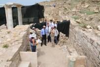 LAODIKYA - Denzli Valisi Kocatepe, Hierapolis Kazılarını İnceledi