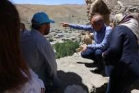 MEHMET TOP - Eş Başkanlardan Kazı Ekibine Ziyaret