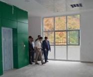 Vali Abdil Celil Öz'den Okul Ve Yurt Binası İnşaatlarına Denetim