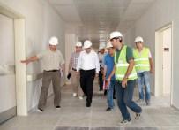 PROJE ÜRETİMİ - TOKİ Başkanı Turan'dan Alanya'da Hastane İnşaatında İnceleme