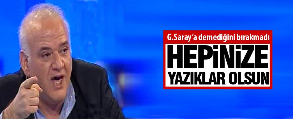 Ahmet Çakar'dan G.Saray yönetimine ağır sözler!