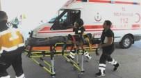 Tarım İşçilerini Taşıyan Münibüs Devrildi 5'İ Çocuk 9 Kişi Yaralandı