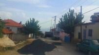 ULUDERBENT - Alaşehir'de Asfalt Çalışmaları Sürüyor